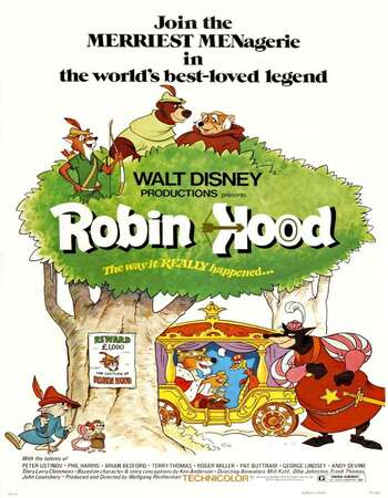 Robin Hood 1973 Hindi Dual Audio 720p BluRay ESubs