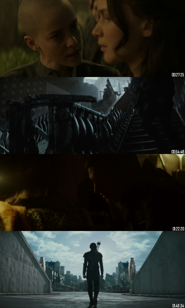The Hunger Games Mockingjay Part 2 (2015) BRRip 720p 480p Dual Audio Hindi English Full Movie Download