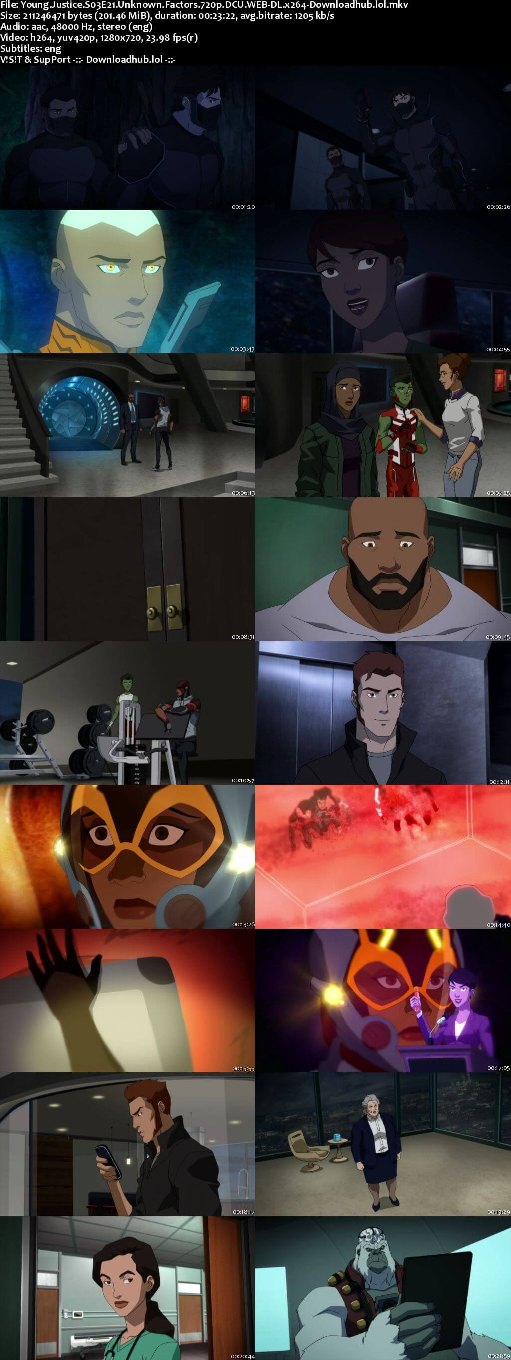 Young Justice S03E21 200MB DCU WEB-DL 720p ESubs