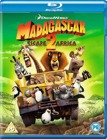 Madagascar – Escape 2 Africa 2008 Dual Audio Hindi 720p BluRay 750mb