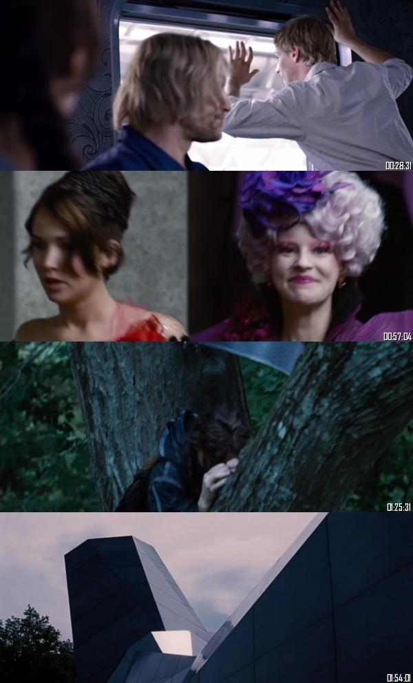 The Hunger Games 2012 BRRip 720p 480p Dual Audio Hindi English Full Movie Download