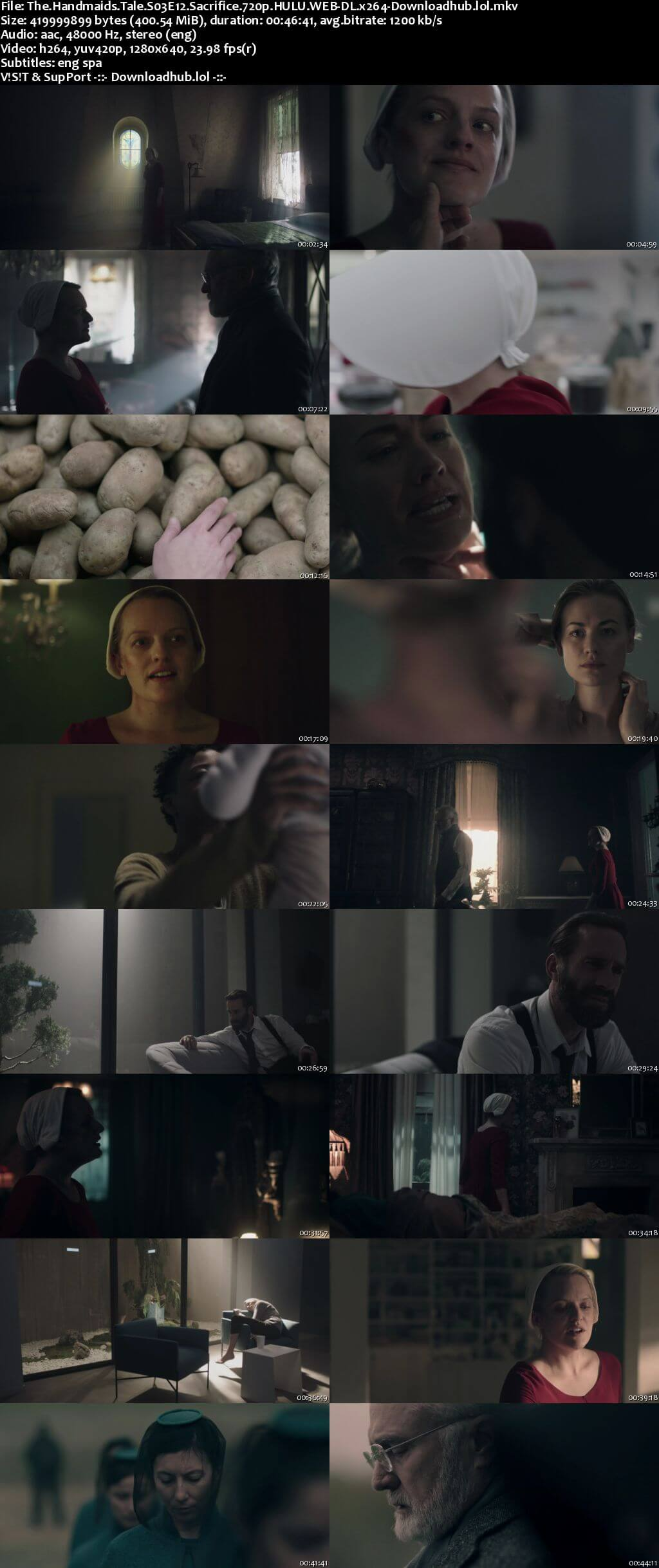 The Handmaids Tale S03E12 400MB WEB-DL 720p ESubs