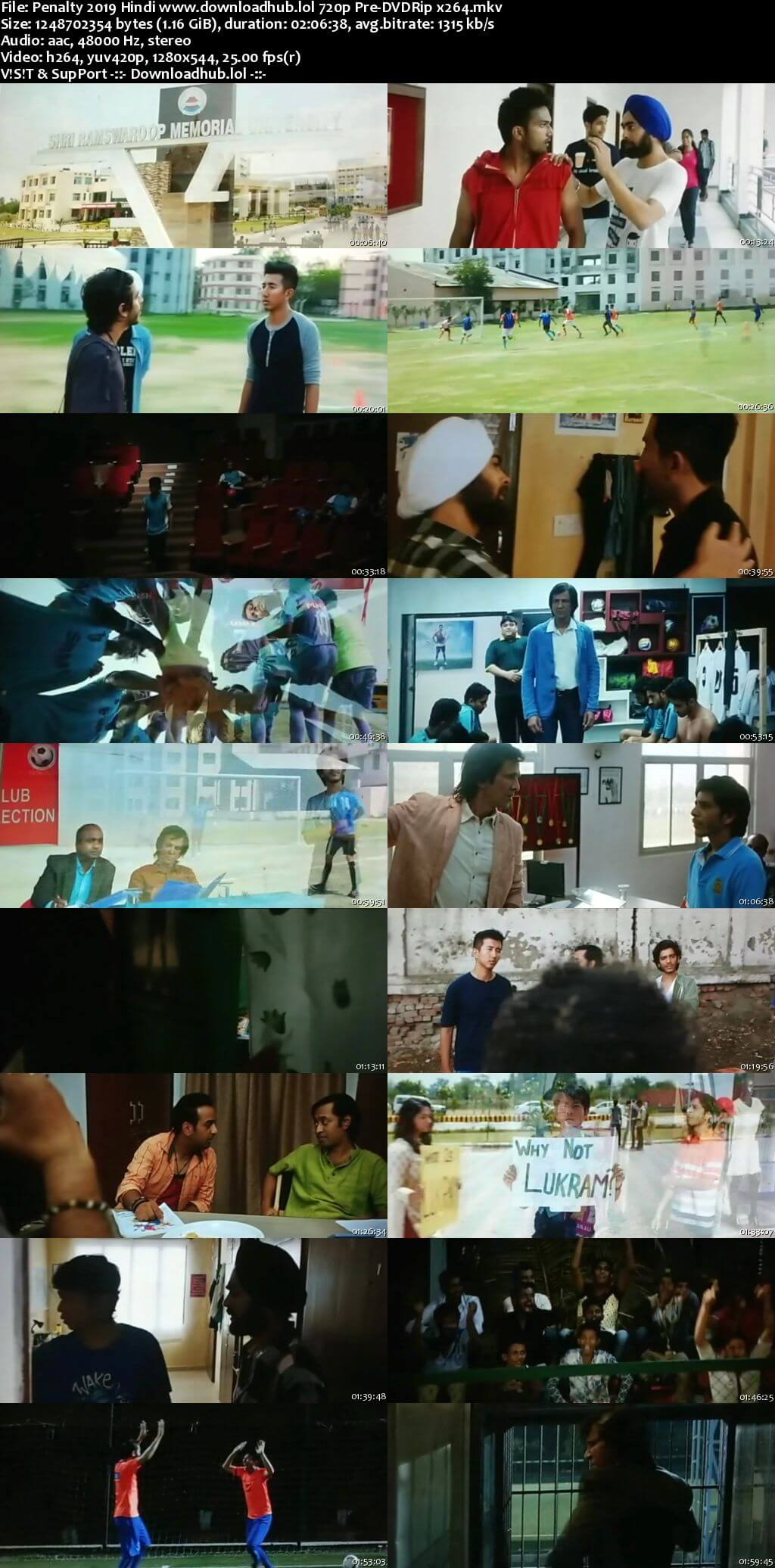 Penalty 2019 Hindi 720p Pre-DVDRip x264