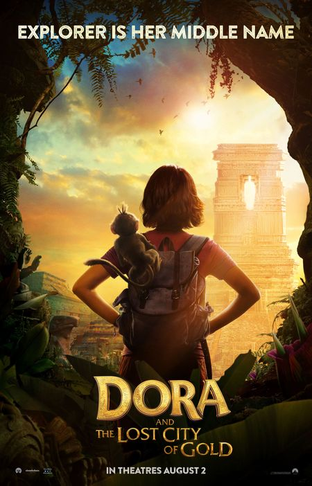Poster of Dora and the Lost City of Gold 2019 Full English Free Download Watch Online In HD Movie Download 720p HDCAM