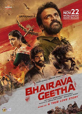 Bhairava Geetha 2018 UNCUT Dual Audio Hindi 720p HDRip 999MB