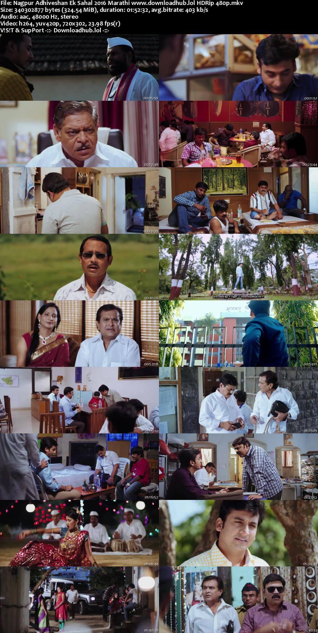 Nagpur Adhiveshan Ek Sahal 2016 Marathi 300MB HDRip 480p
