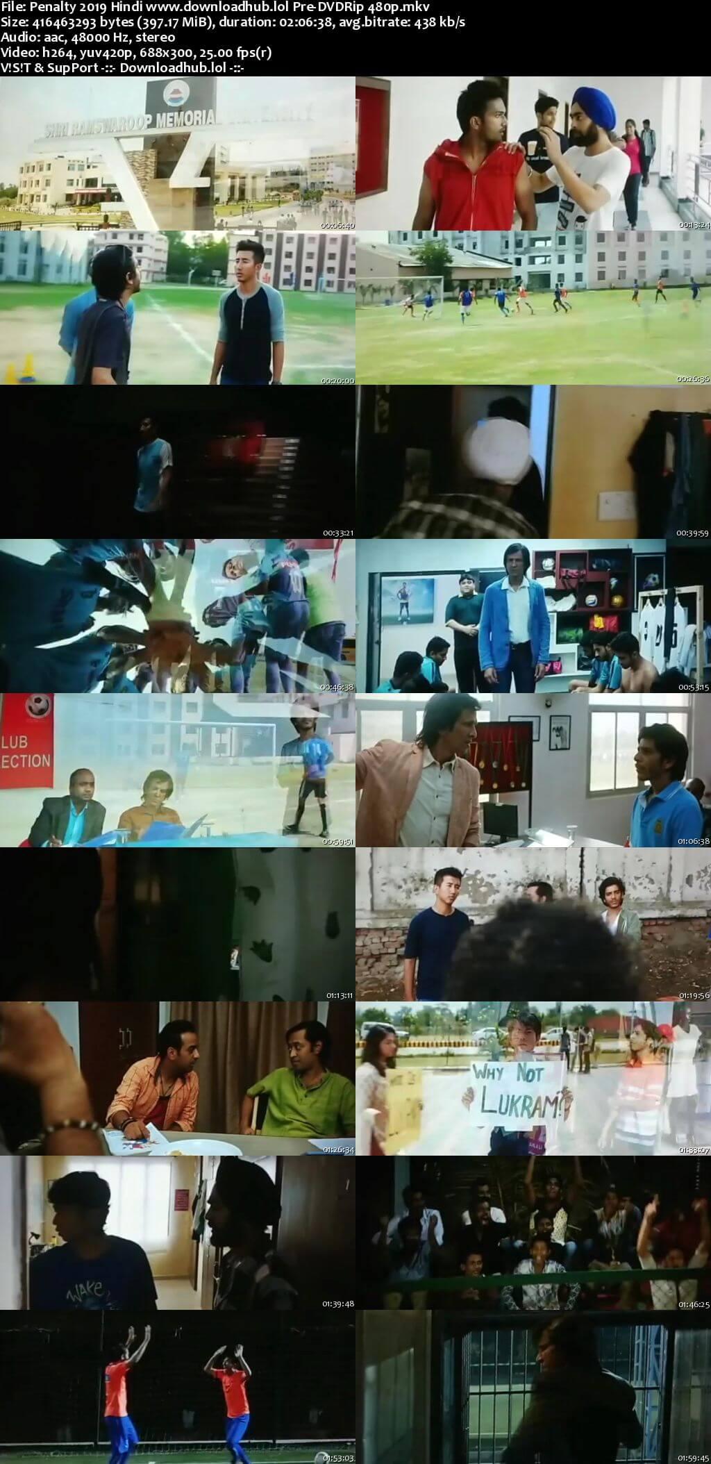Penalty 2019 Hindi 400MB Pre-DVDRip 480p