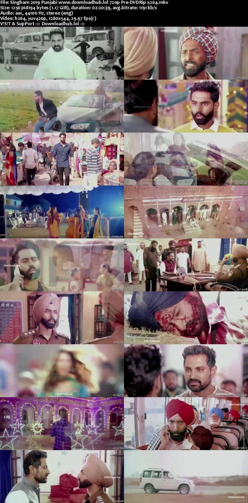 Singham 2019 Punjabi 720p Pre-DVDRip x264