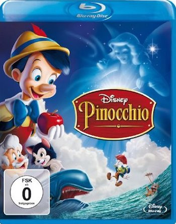 Pinocchio 1940 Dual Audio Hindi 720p BluRay 800mb