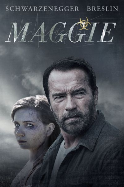 Poster of Maggie 2015 Full Hindi Dual Audio Movie Download BluRay 720p