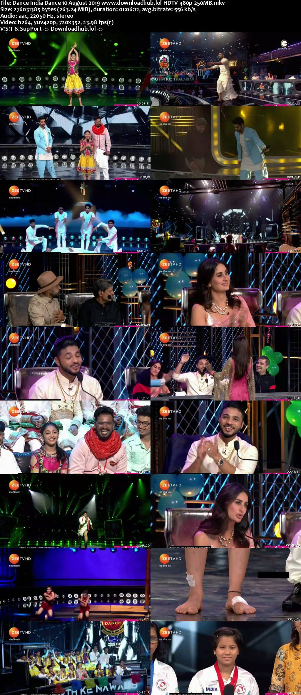 Dance India Dance 10 August 2019 Episode 15 HDTV 480p