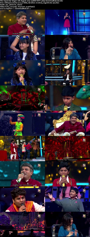 Superstar Singer 11 August 2019 Episode 14 HDTV 480p