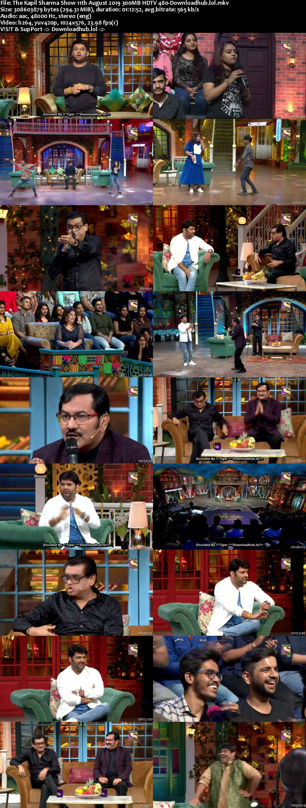 The Kapil Sharma Show 11 August 2019 Episode 65 HDTV 480p