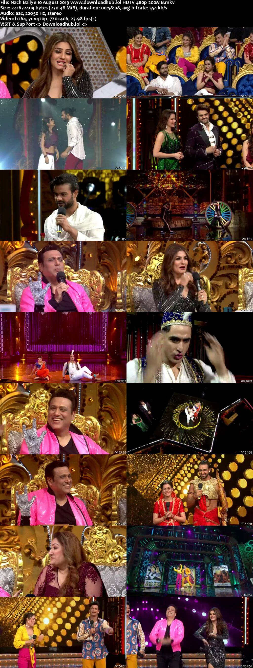 Nach Baliye 9 10 August 2019 Episode 08 HDTV 480p