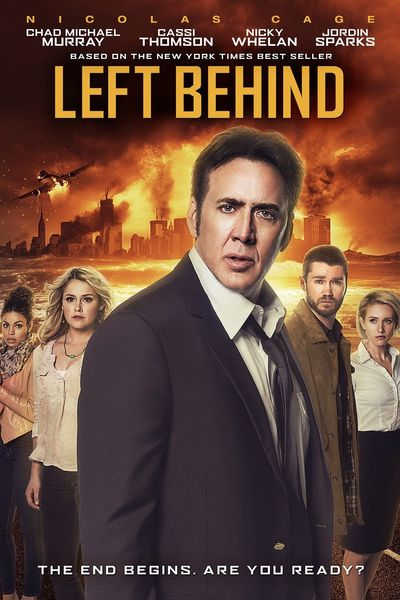 Poster of Left Behind 2014 Full Hindi Dual Audio Movie Download BluRay 720p