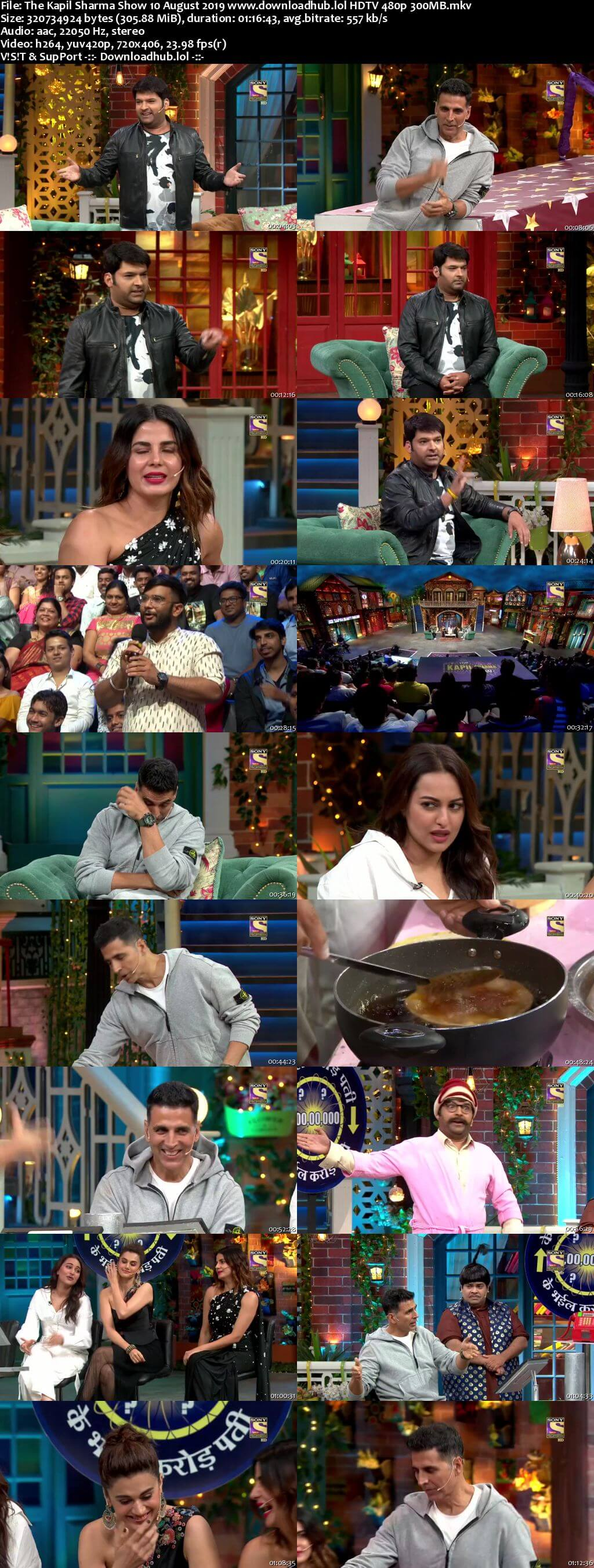 The Kapil Sharma Show 10 August 2019 Episode 64 HDTV 480p