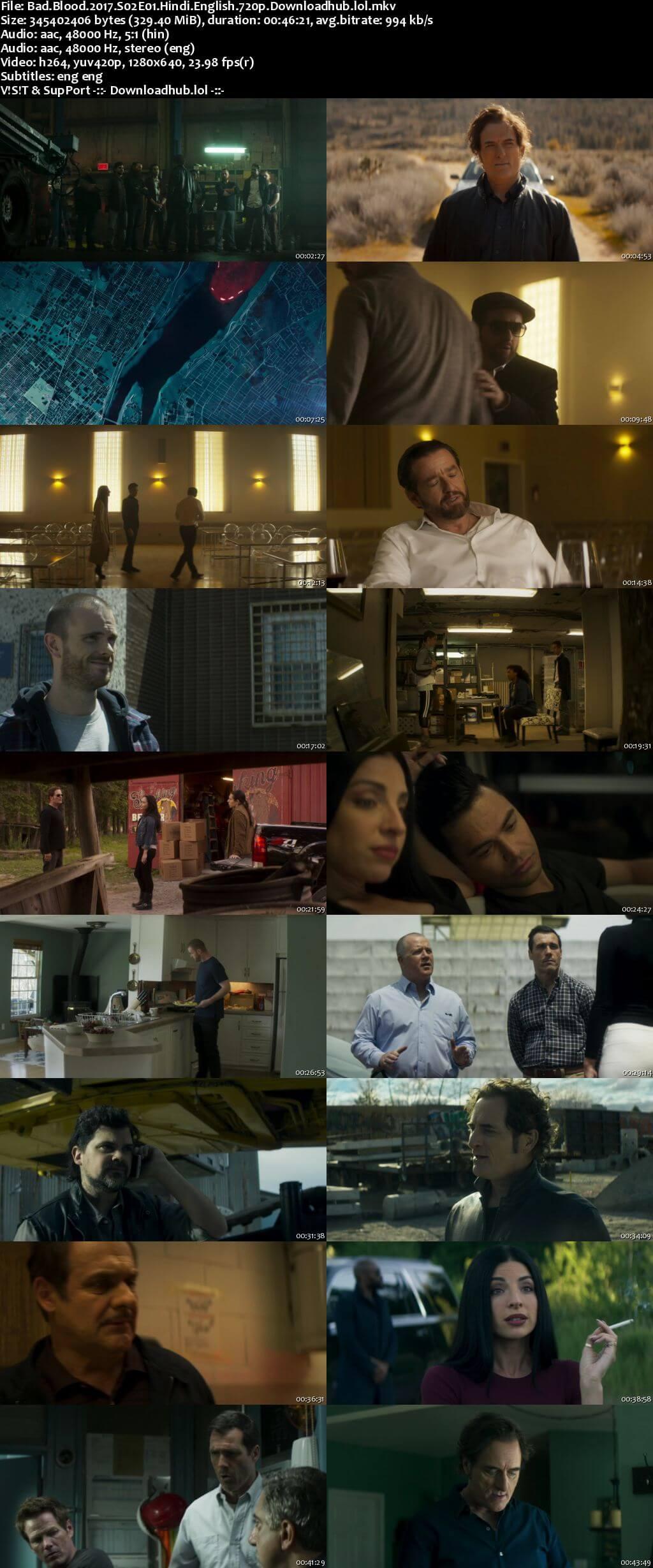 Bad Blood S02 Complete Hindi Dual Audio 720p Web-DL ESubs