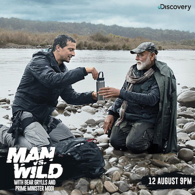 Man vs Wild ft PM Narendra Modi 12 Aug 2019 Full Episode Download