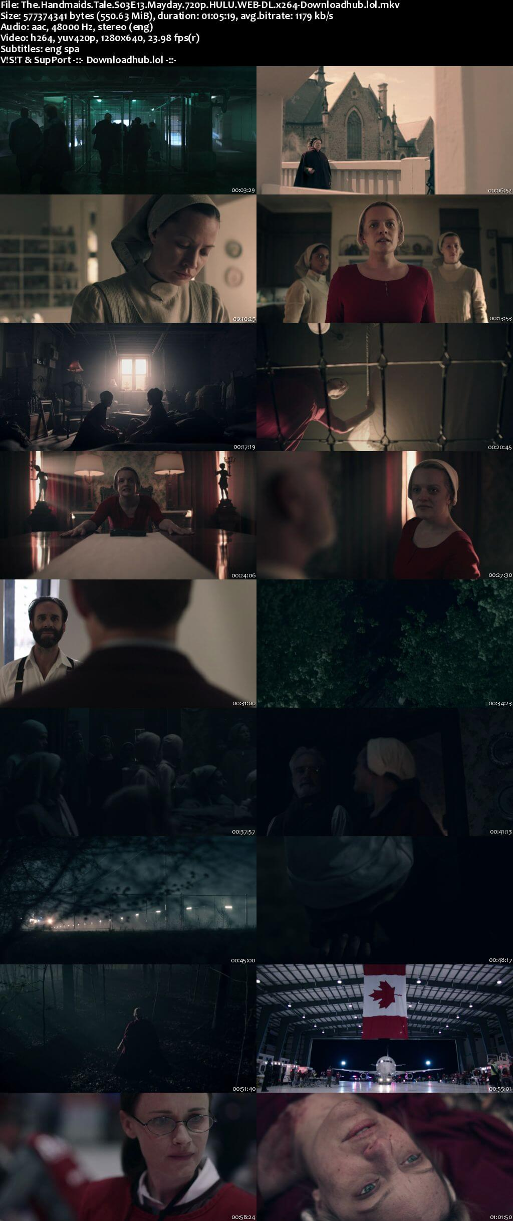 The Handmaids Tale S03E13 550MB WEB-DL 720p ESubs