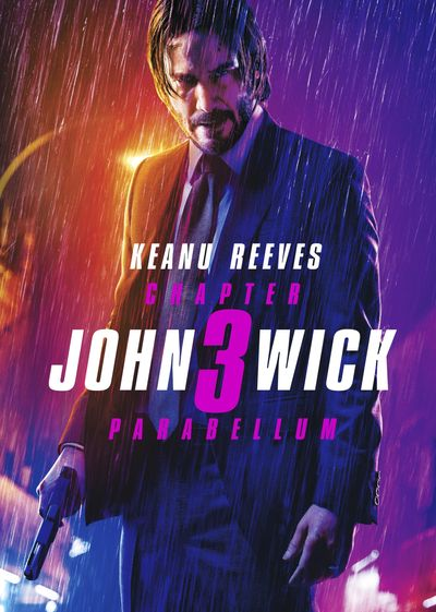Poster of John Wick: Chapter 3 – Parabellum 2019 Full English Free Download Watch Online In HD Movie Download 720p BluRay