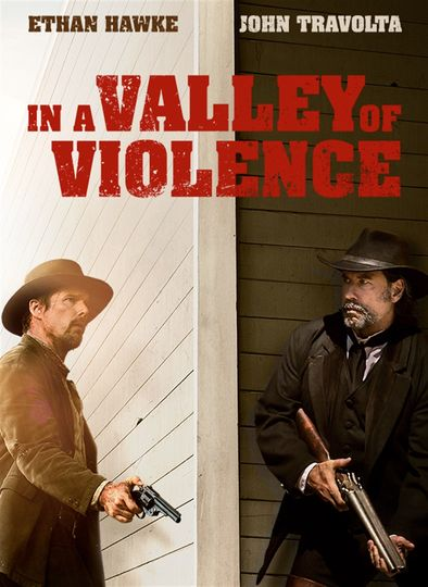 Poster of In a Valley of Violence 2016 Full Hindi Dual Audio Movie Download BluRay 480p