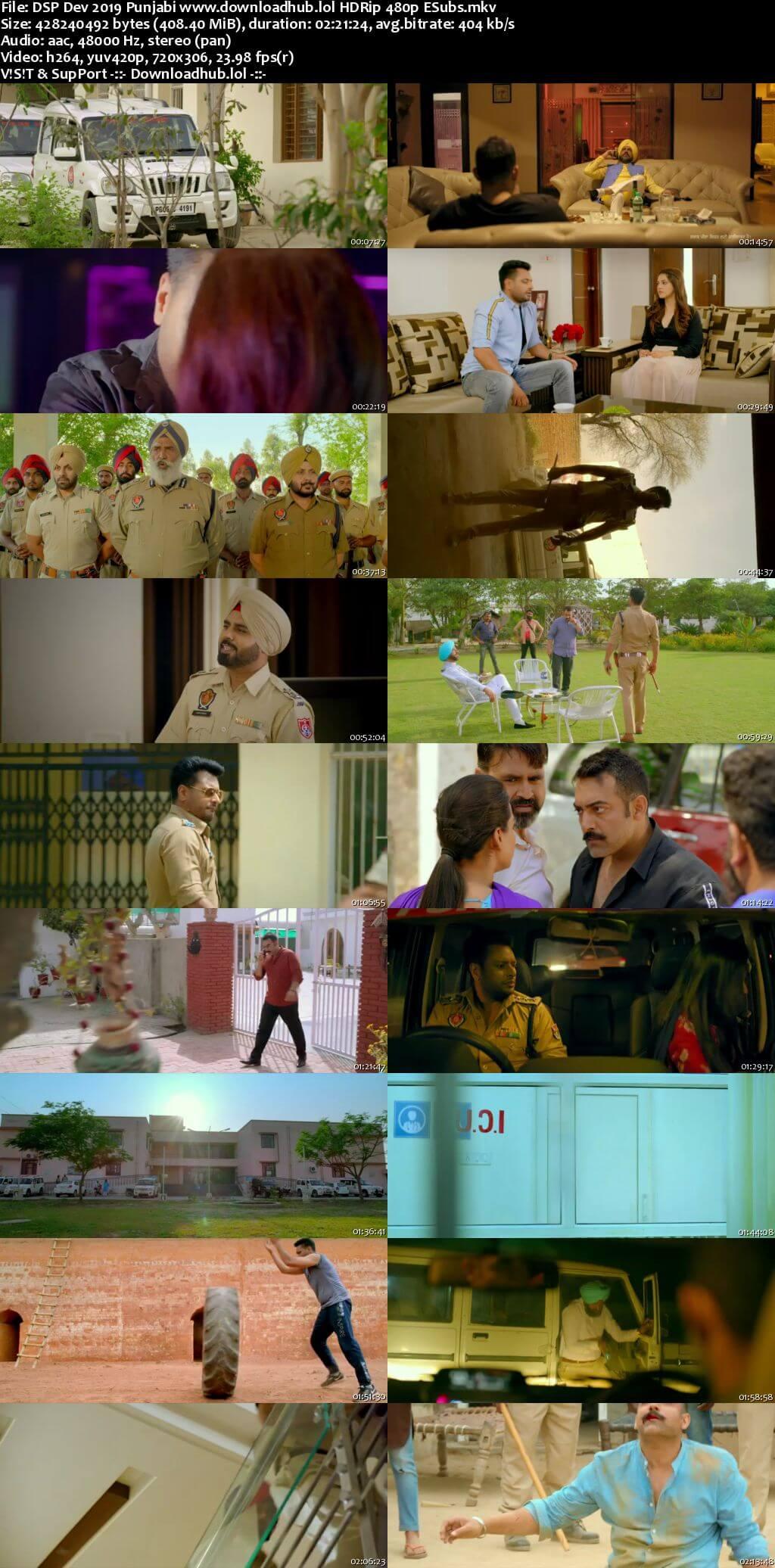 DSP Dev 2019 Punjabi 400MB HDRip 480p ESubs
