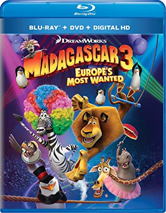 Madagascar 3 – Europes Most Wanted 2012 Dual Audio Hindi 720p BluRay 800mb