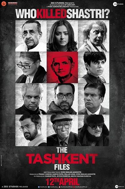 The Tashkent Files 2019 Hindi Movie Download 480p 300MB HDRip
