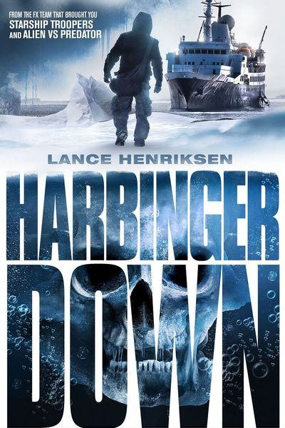 Poster of Harbinger Down 2015 Full Hindi Dual Audio Movie Download BluRay 720p