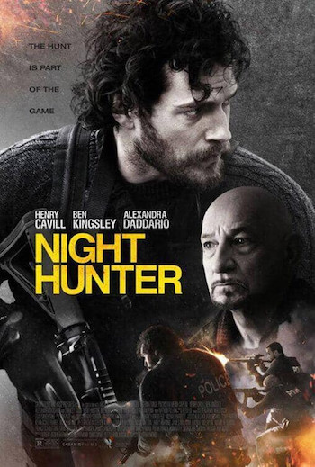 Night Hunter 2018 English 480p HDRip 300MB