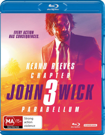 John Wick 3 2019 English 720p BRRip 999MB ESubs