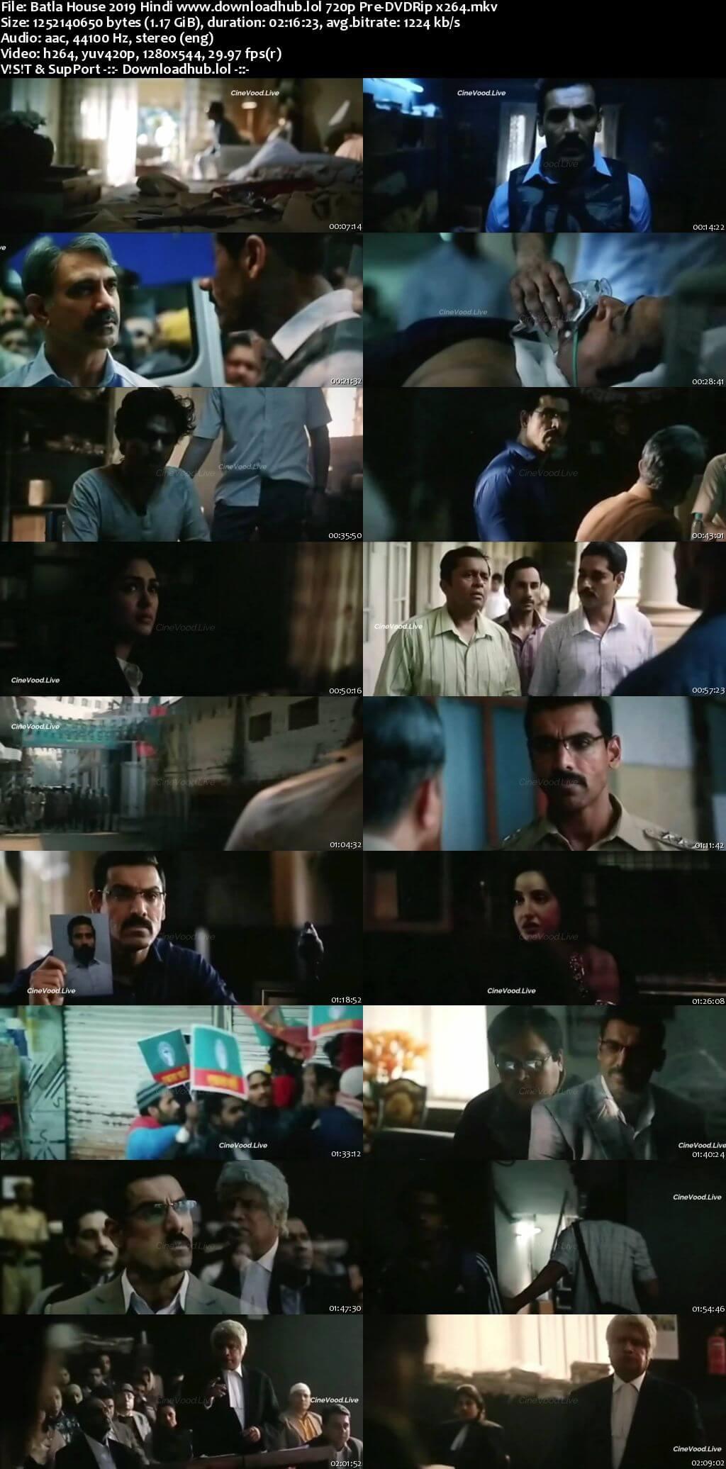 Batla House 2019 Hindi 720p Pre-DVDRip x264
