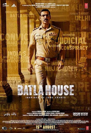 Batla House 2019 Hindi 480p WEB-DL 400MB