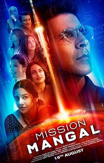Mission Mangal 2019 Hindi 720p WEB-DL 950mb