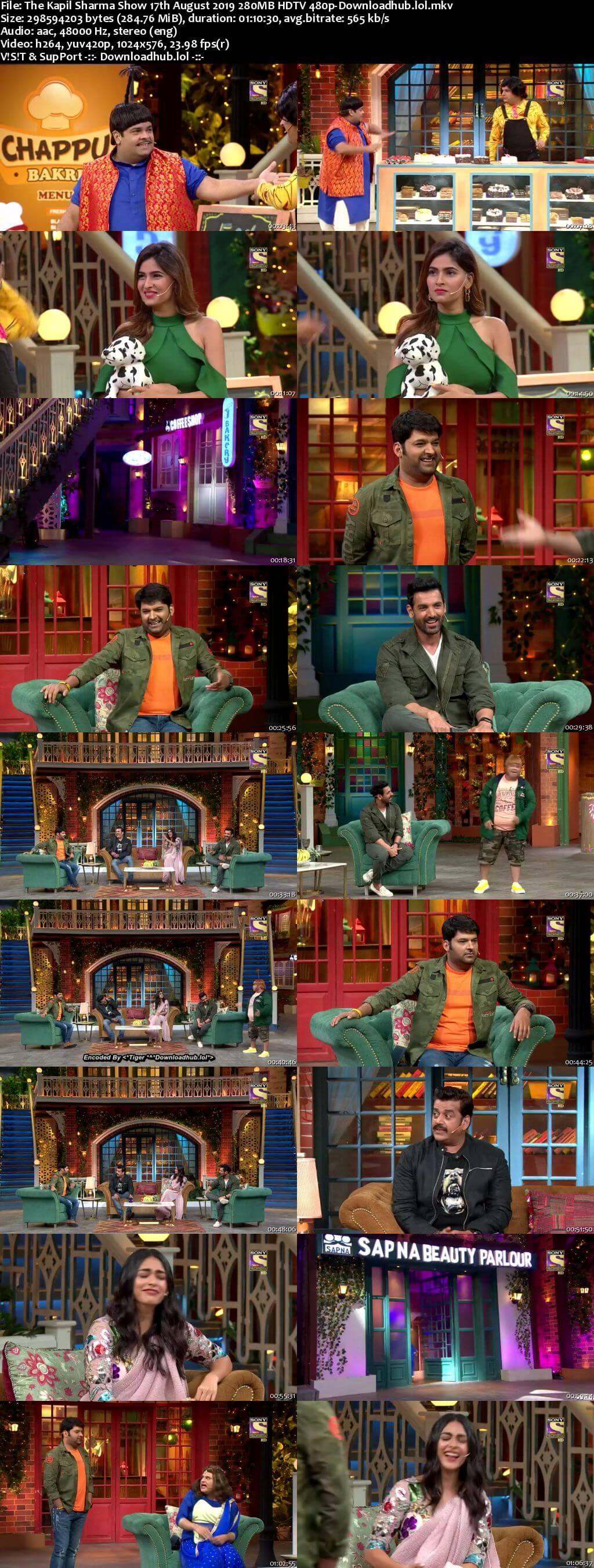 The Kapil Sharma Show 17 August 2019 Episode 66 HDTV 480p