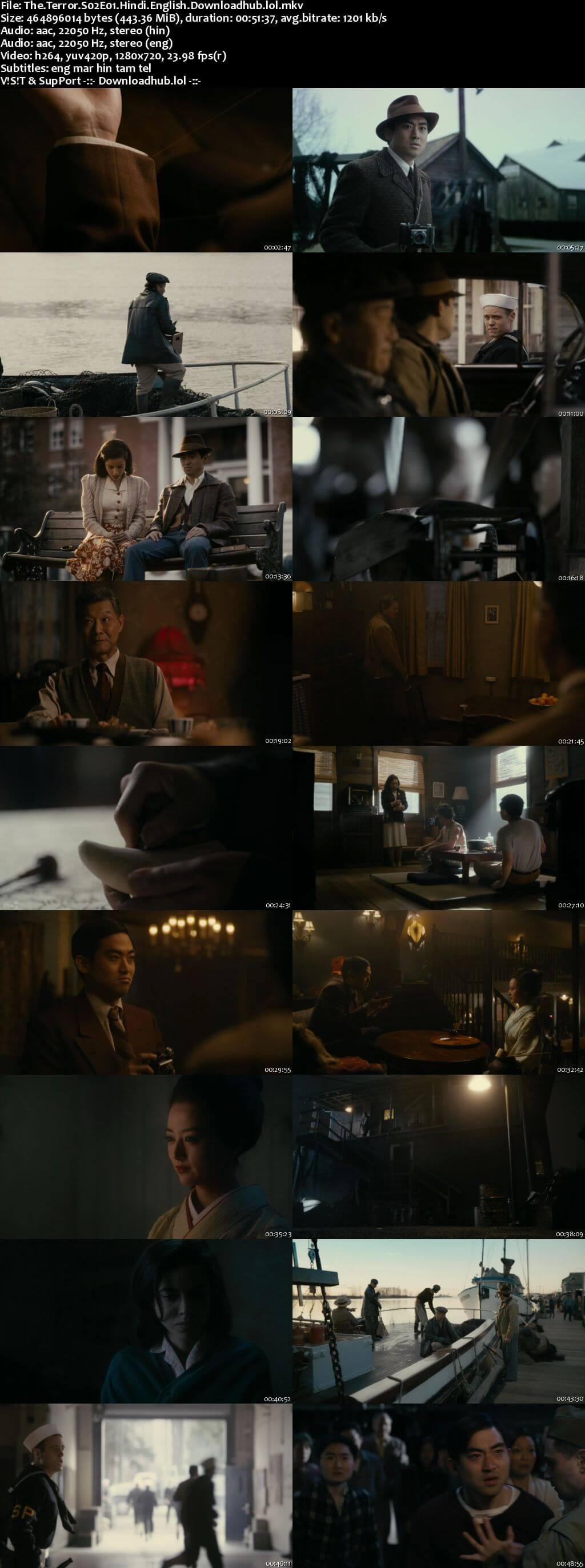 The Terror S02 Complete Hindi Dual Audio 720p Web-DL MSubs