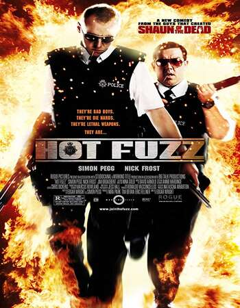 Hot Fuzz 2007 Hindi Dual Audio 600MB BluRay 720p ESubs HEVC