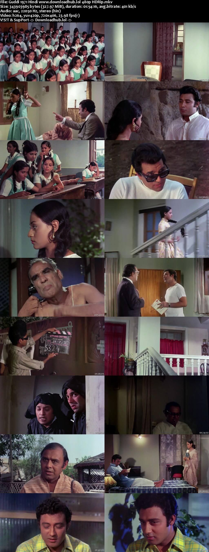 Guddi 1971 Hindi 300MB HDRip 480p