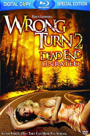 Wrong Turn 2 Dead End 2007 UNRATED English 300MB BRRip 480p ESubs Free Download