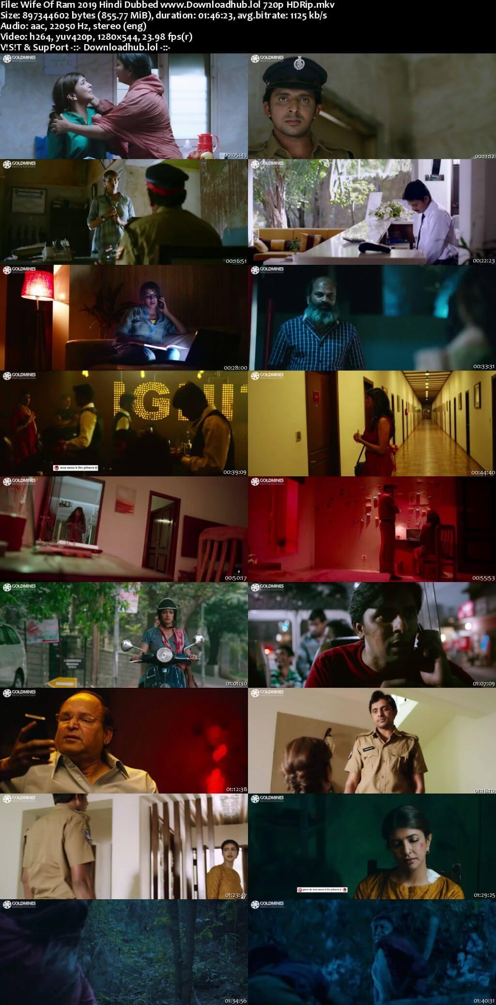 Wife Of Ram 2019 Hindi Dubbed 720p HDRip x264