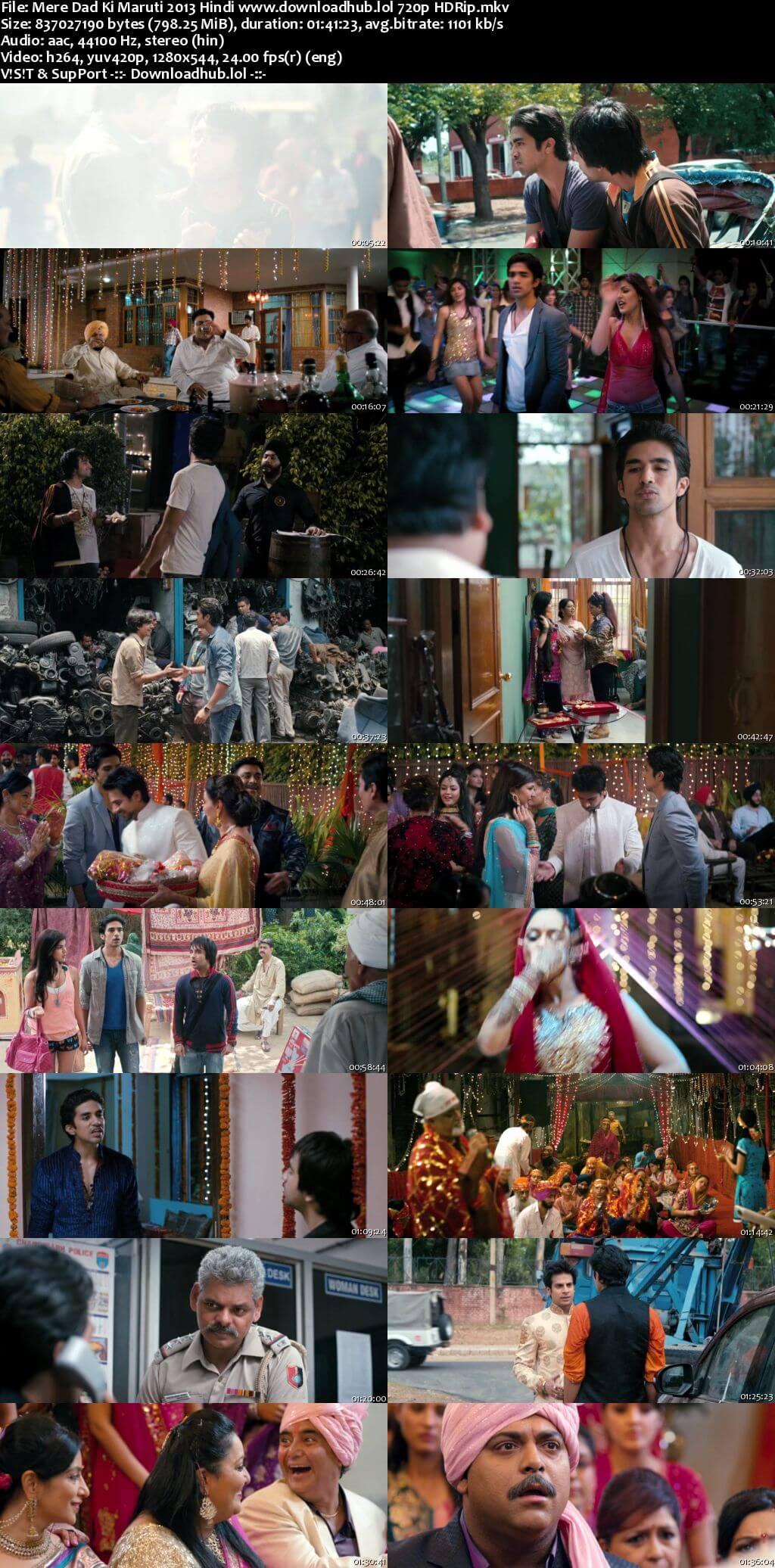 Mere Dad Ki Maruti 2013 Hindi 720p HDRip x264