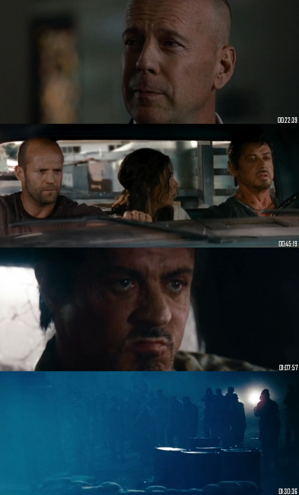The Expendables 2010 Extended BRRip 720p 480p Dual Audio Hindi English Full Movie Download