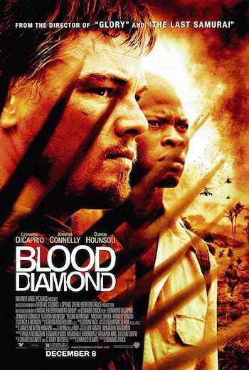 Blood Diamond 2006 Dual Audio Hindi English BRRip 720p Movie Download