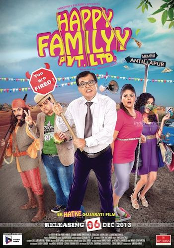 Happy Familyy Pvt Ltd 2013 Gujarati 720p WEB-DL 800mb