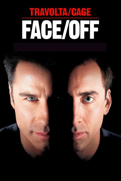 Poster of Face/Off 1997 Full Hindi Dual Audio Movie Download BluRay 480p