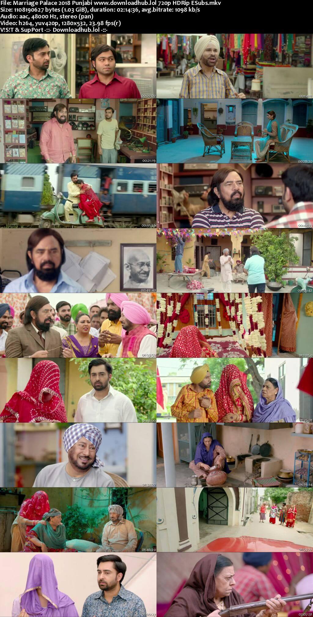 Marriage Palace 2018 Punjabi 720p HDRip ESubs