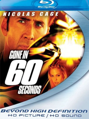 Gone in 60 Seconds 2000 Dual Audio Hindi 350MB BluRay 480p