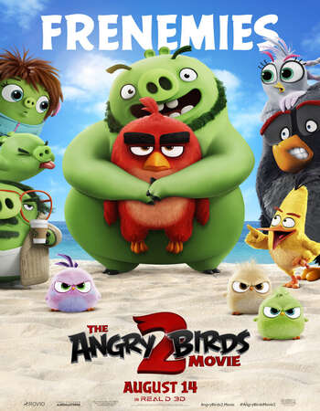 The Angry Birds Movie 2 2019 Hindi ORG Dual Audio 550MB BluRay 720p ESubs HEVC