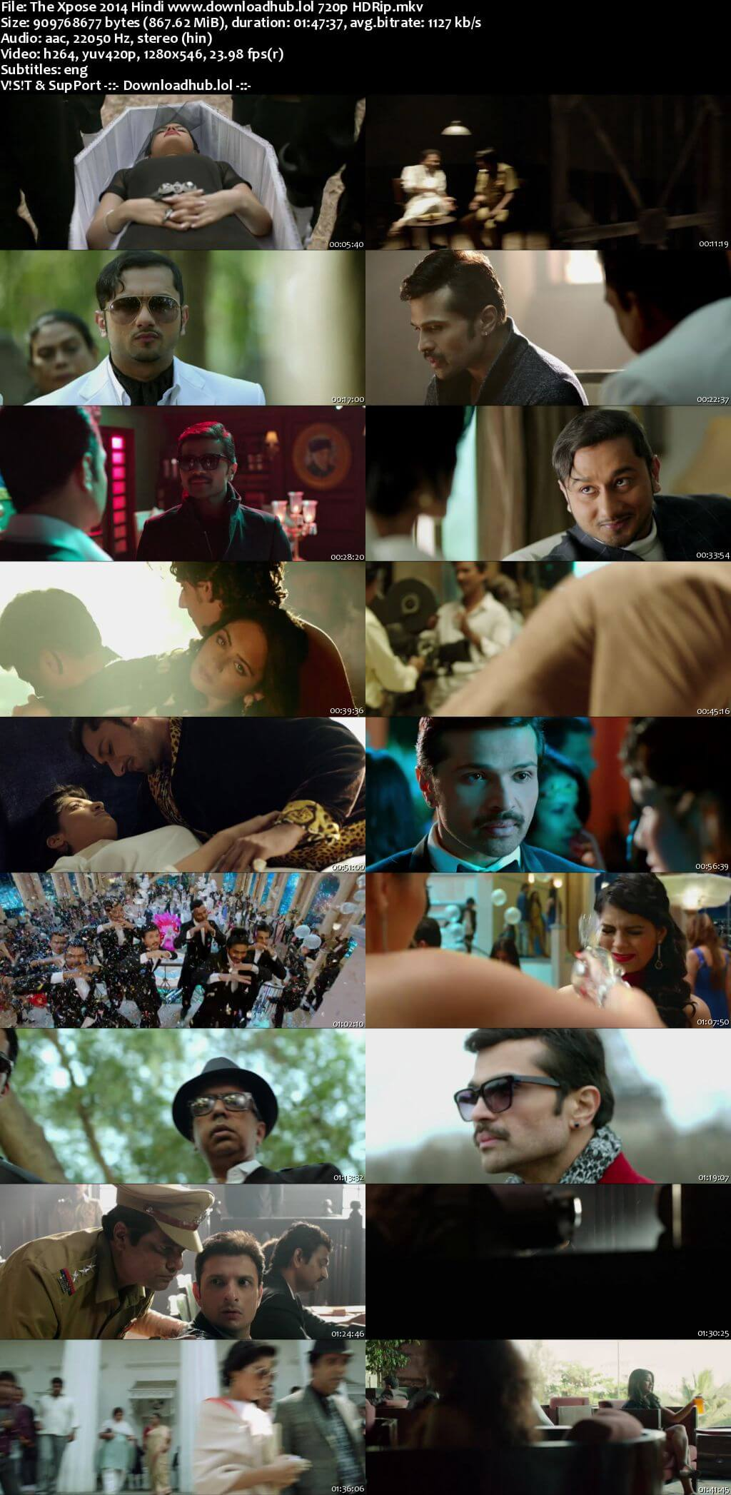 The Xpose 2014 Hindi 720p HDRip ESubs