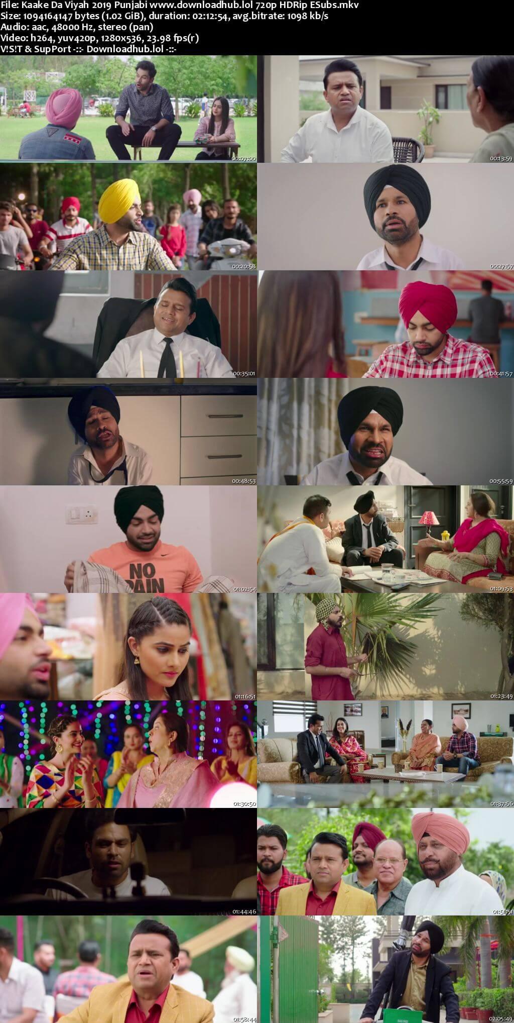 Kaake Da Viyah 2019 Punjabi 720p HDRip ESubs